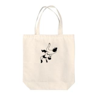 ジャーマン・スープレックス Tote bags