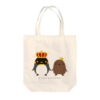 KING & YOUNG Tote bags