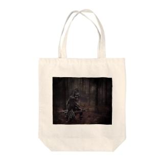 梅さん Tote bags