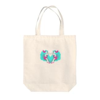 ポップサイダーガール Tote bags