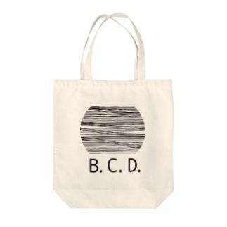 B.C.D. Tote bags