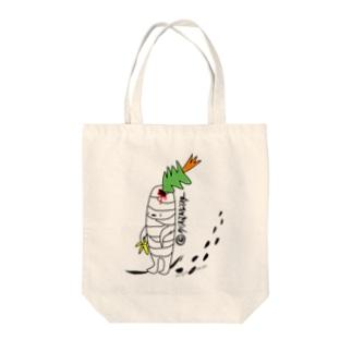 クリスマスモンスター Tote bags