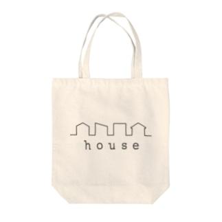 hitokoto-kotoba_house Tote bags
