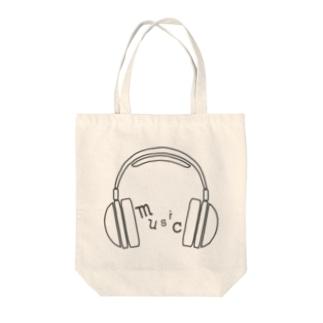 hitokoto-kotoba_music Tote bags