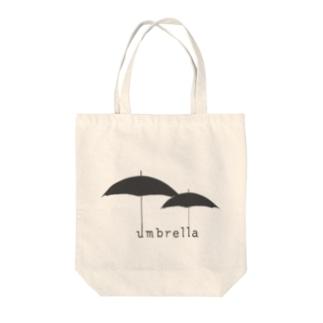 hitokoto-kotoba_umbrella Tote bags