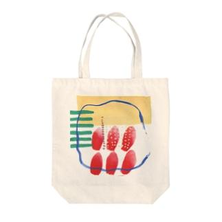 チェリーパイ Tote bags