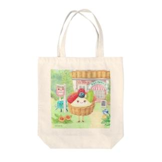フルーツタルトさん Tote bags