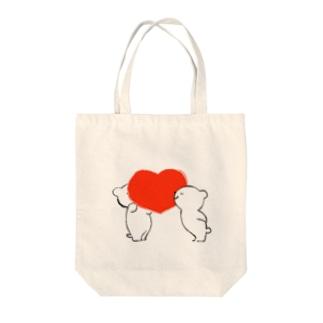 heart トートバッグ