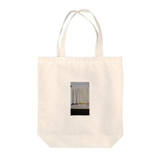 ボタンフラワートート Tote bags