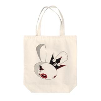 闇ウサビ[仮想通貨] Tote bags