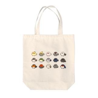 ことりシリーズ Tote bags