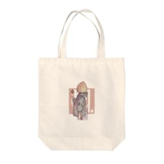 カエデテン Tote bags
