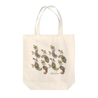 Paisley Green (36kolours) Tote bags