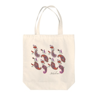 Paisley Red (36kolours) Tote bags