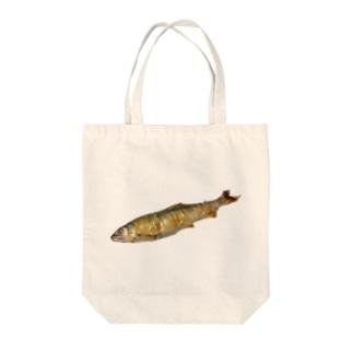 長良川の鮎 Tote bags