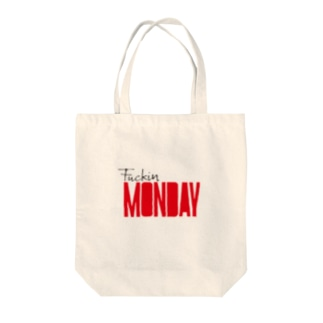 f monday Tote bags