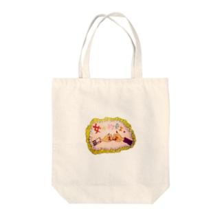 HARUMIHIYAMA  Tote bags