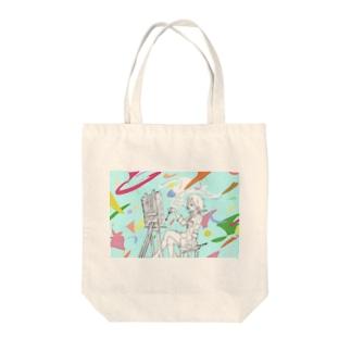 「彩れ」 Tote bags