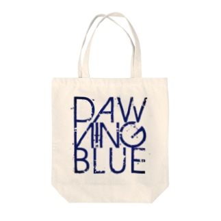 DAWNING BLUEのロゴ Tote bags