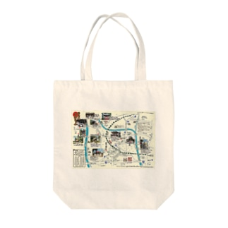 H27初詣マップ Tote bags