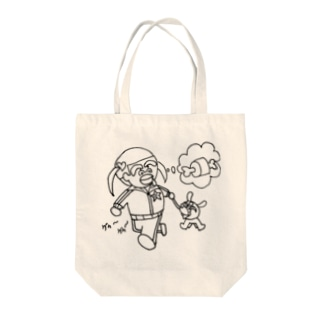 ちっちゅうスタンプトートバック Tote bags