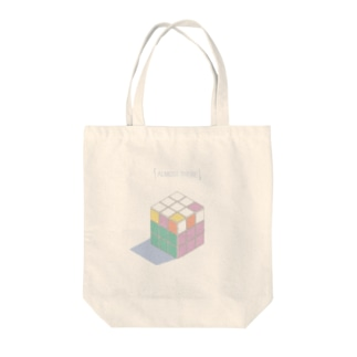 ALMOST THERE Tote bags