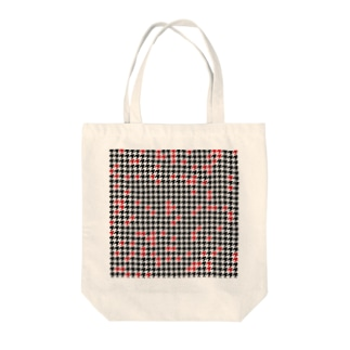 Hounds Tooth Check02 Tote bags