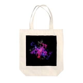 Pastel Galaxy(Pink and Purple) Tote bags