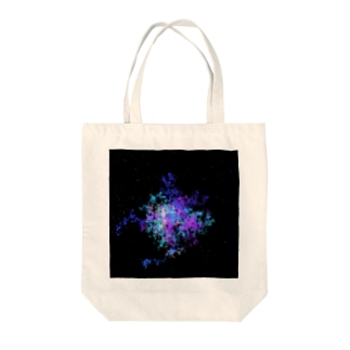 Pastel Galaxy(Blue and Purple) Tote bags