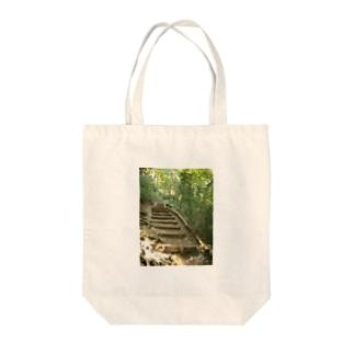 散歩みち Tote bags