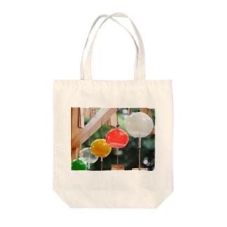 ふうりん Tote bags