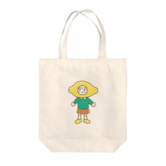レモン Tote bags