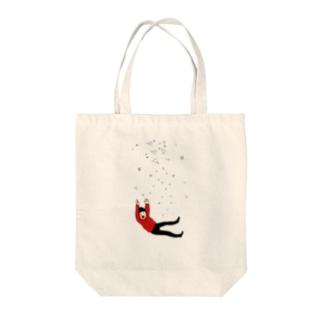 流れ星② Tote bags