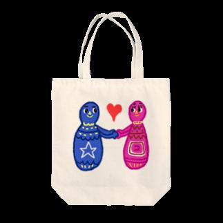 tunのLOVE-P Tote bags