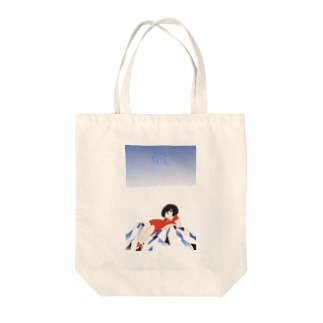 山ガール Tote bags