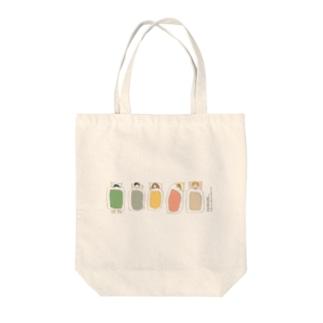 寝相ふとん(直列) Tote bags