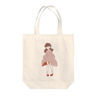 おなのこ(照) Tote bags