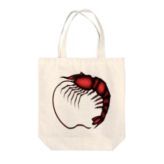 えび Tote bags