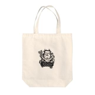 エディ ドッグ Tote bags