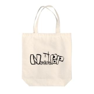 Necro pop ロゴ Tote bags