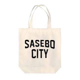 SASEBO CITY 佐世保ロゴ Tote bags