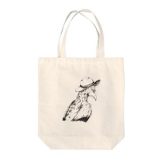 帽子鳥 Tote bags