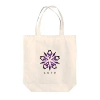 Lore(PURPLE) Tote bags