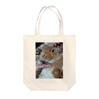 めんこい♡ぽんちゃ Tote bags