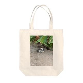 大久野島のうさぎさん Tote bags