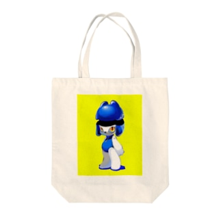 ROBOT BABY Tote bags