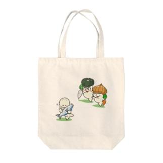 おやさいのゆうわく Tote bags