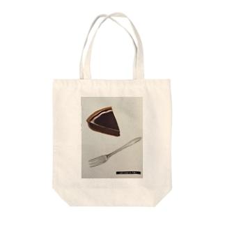 Tarte au Chocolat Tote bags