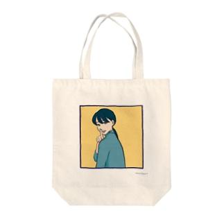 ナイショゴト Tote bags