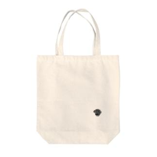 黒薔薇 Tote bags